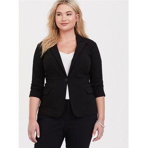 Torrid Black Studio Lexington Blazer Jacket